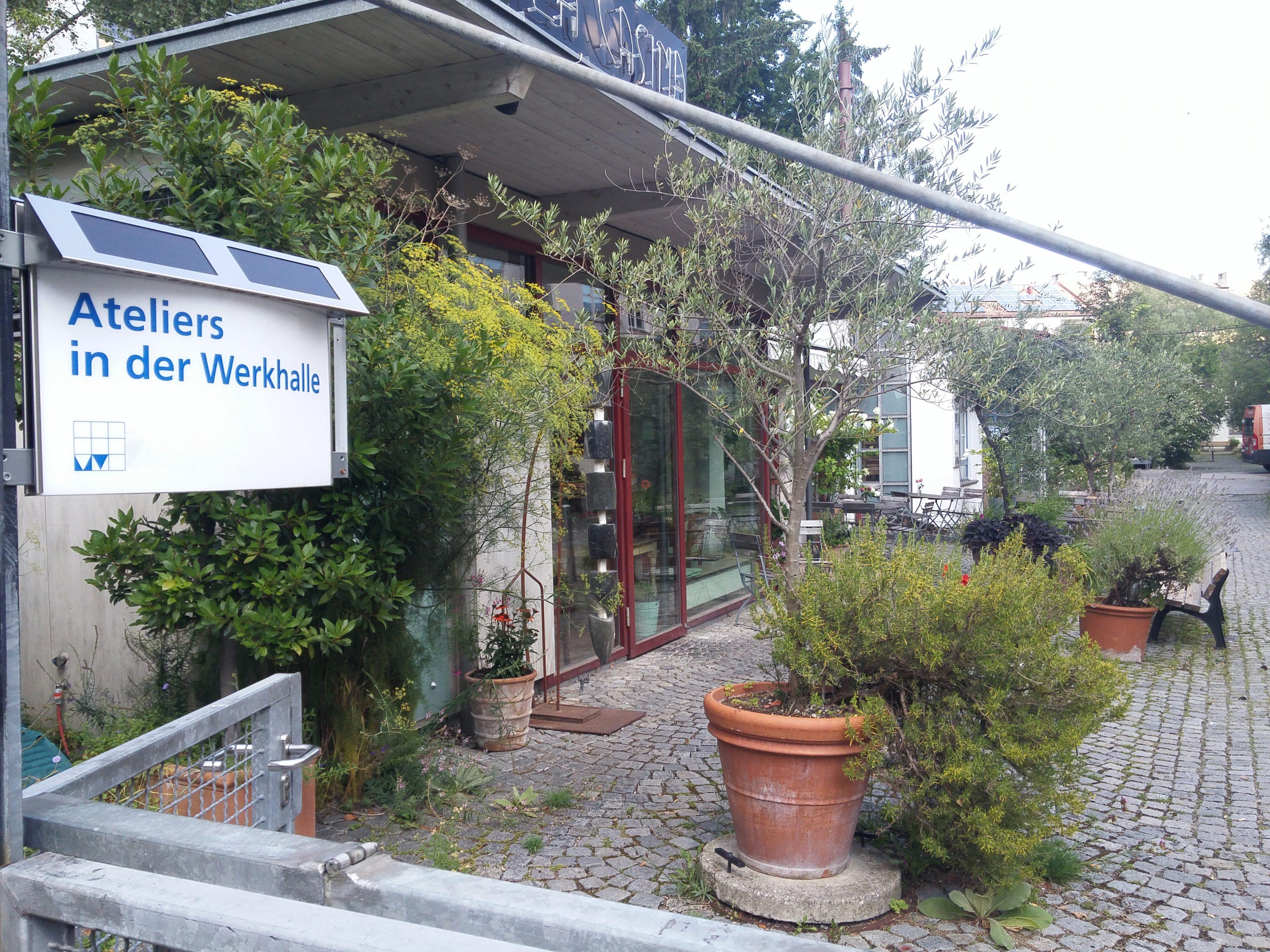 2017, Ateliers in der Werkhalle, Frohschammerstr, München