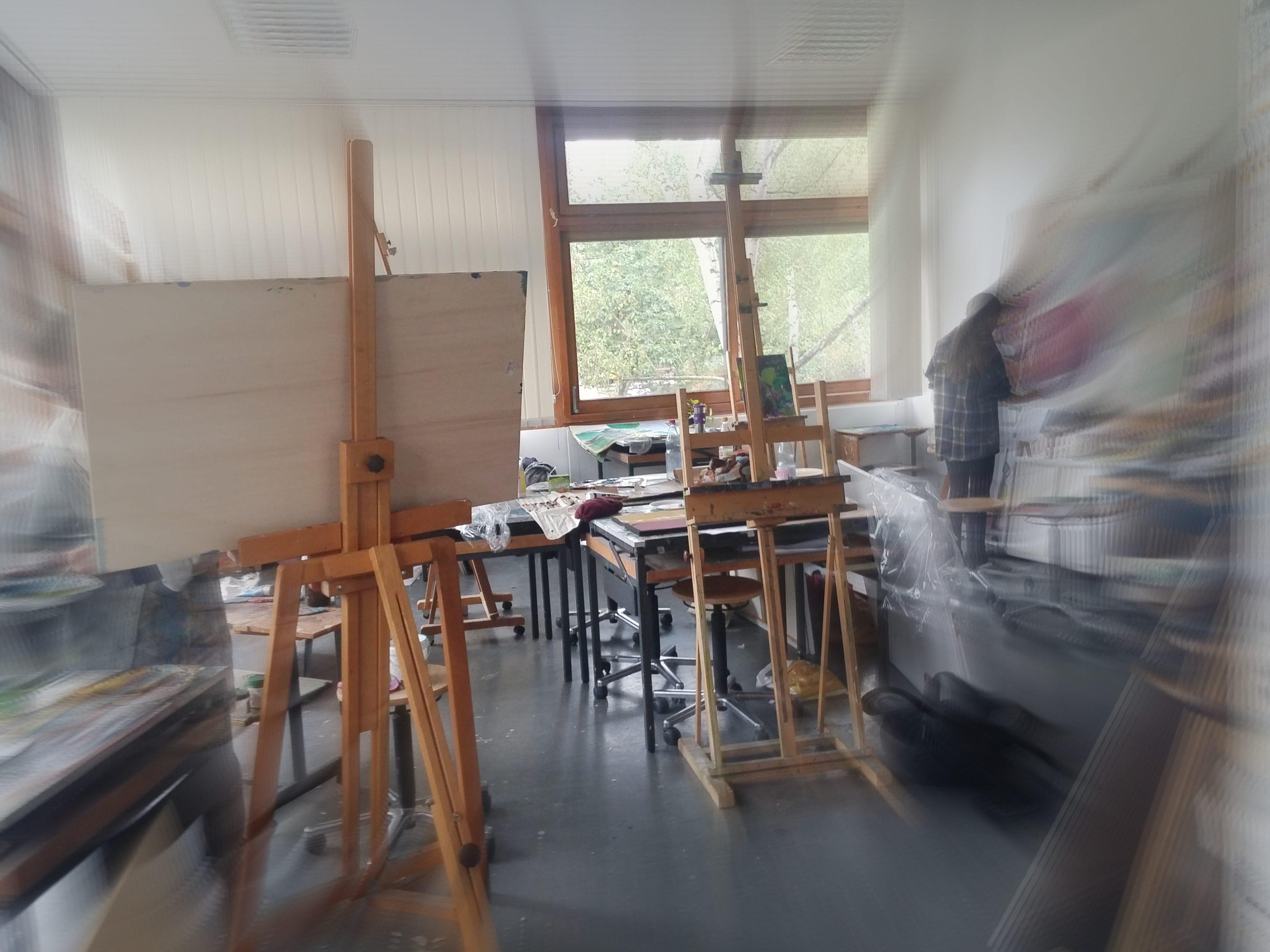 Eine Grammatik der Malerei. Workshop SoSe 2017 Uni Gießen